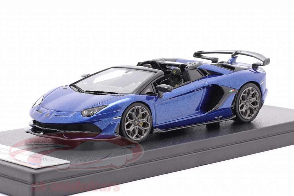 Lamborghini Aventador SVJ Año de construcción 2019 caelum azul metálico 1:43 LookSmart