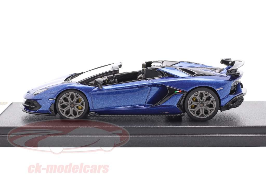 Lamborghini Aventador SVJ Anno di costruzione 2019 caelum blu metallico 1:43 LookSmart