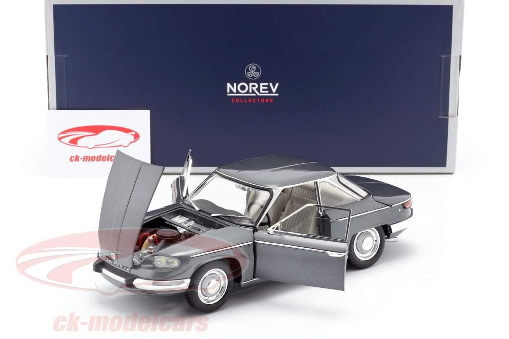 Panhard 24 CT Anno di costruzione 1964 grigio argento metallico 1:18 Norev