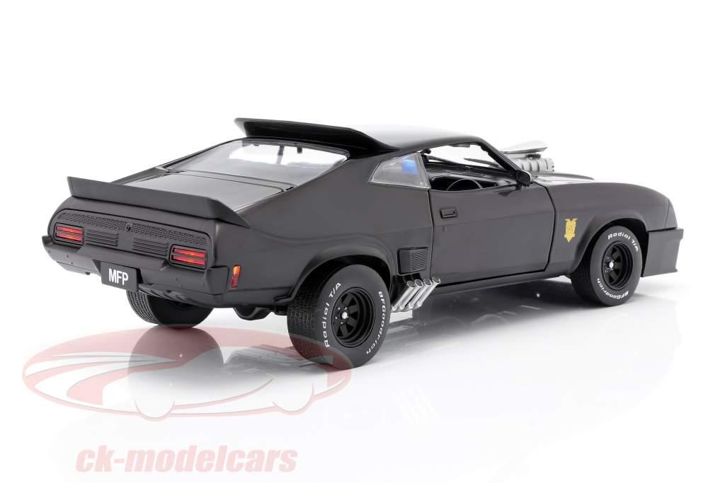 Ford Falcon XB Opførselsår 1973 V8 Interceptor film Mad Max (1979) sort 1:18 Greenlight