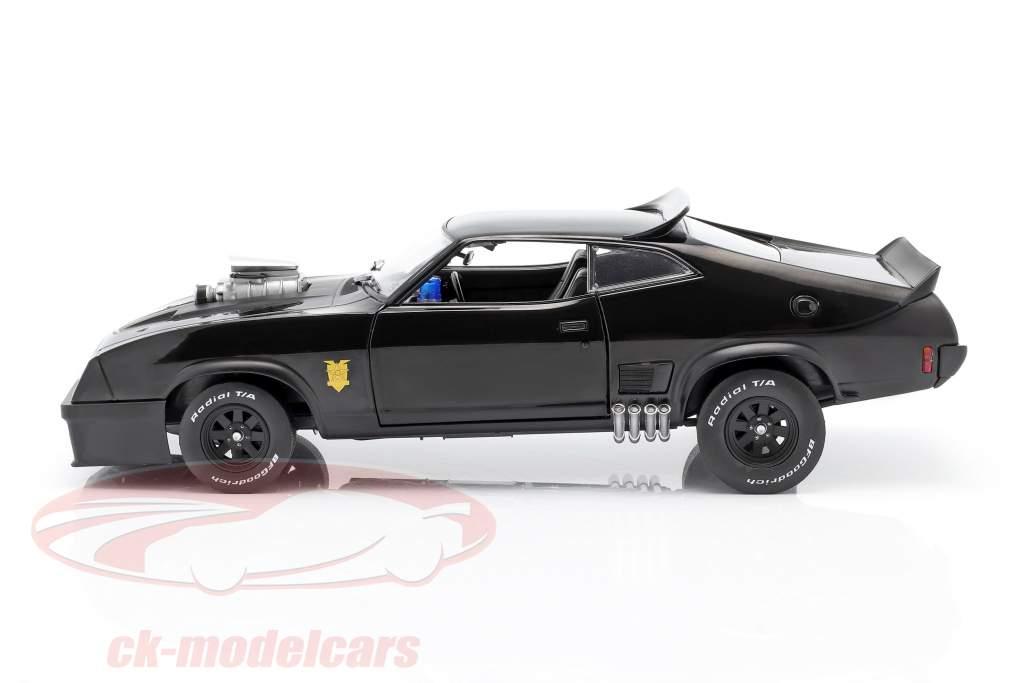 Ford Falcon XB année de construction 1973 V8 Interceptor film Mad Max (1979) noir 1:18 Greenlight