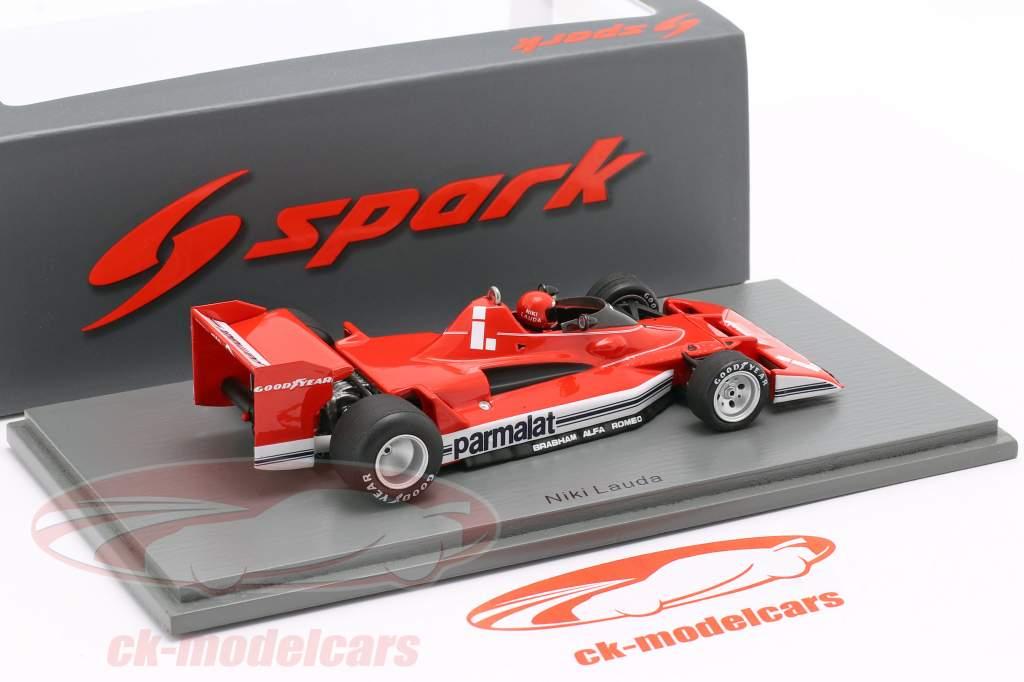Niki Lauda Brabham BT45C #1 2º Argentino GP Formula 1 1978 1:43 Spark
