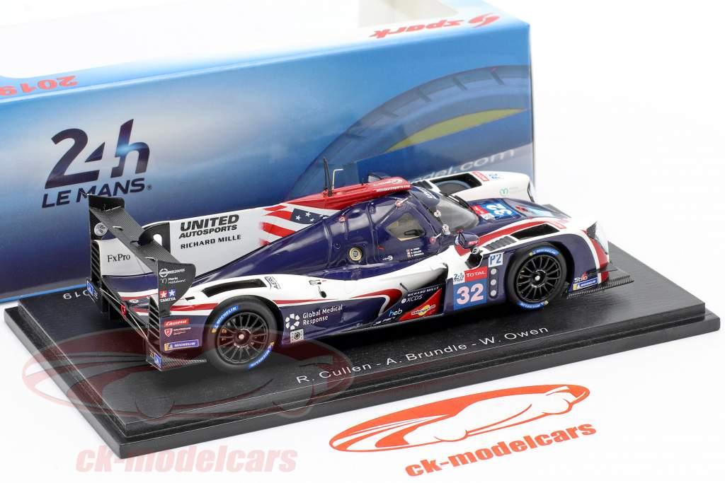 Ligier JS P217 #32 24h LeMans 2019 Cullen, Brundle, Owen 1:43 Spark