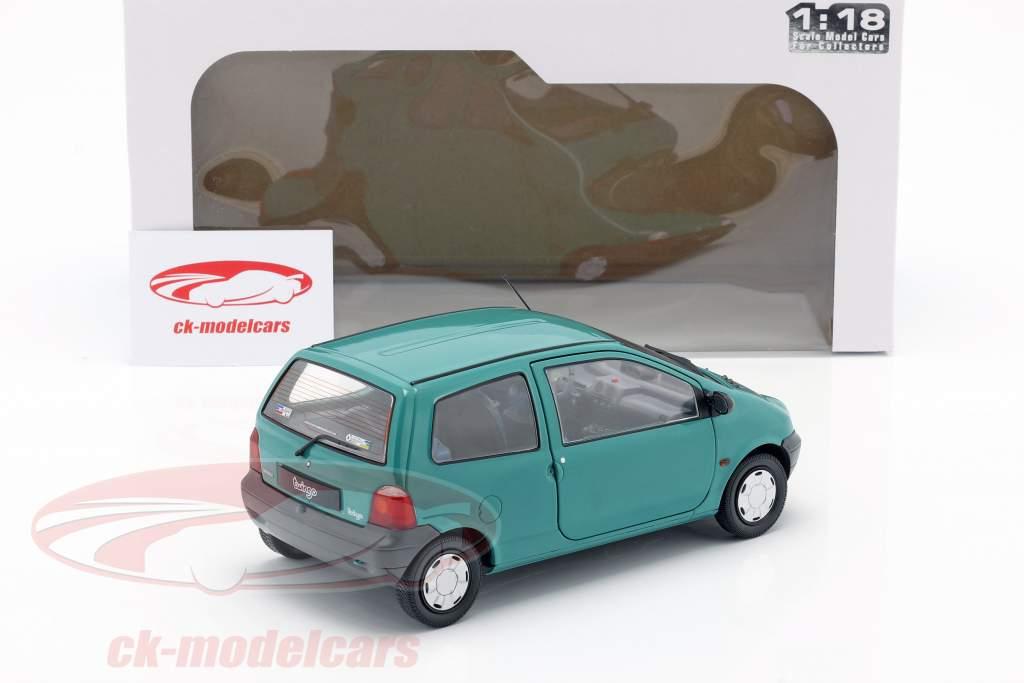 Renault Twingo MK1 Byggeår 1993 grøn 1:18 Solido
