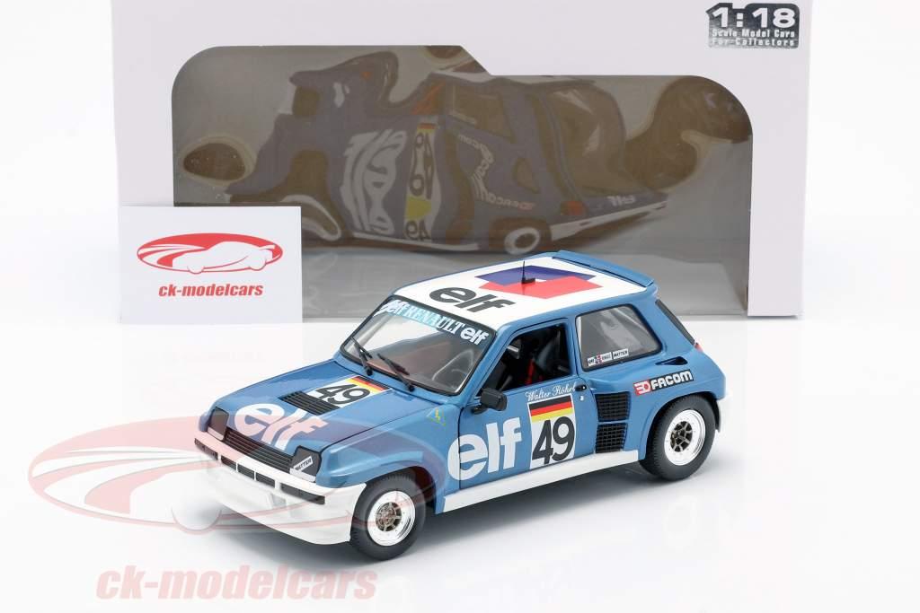 Renault 5 Turbo #49 Europeo Copa 1981 Walter Röhrl 1:18 Solido