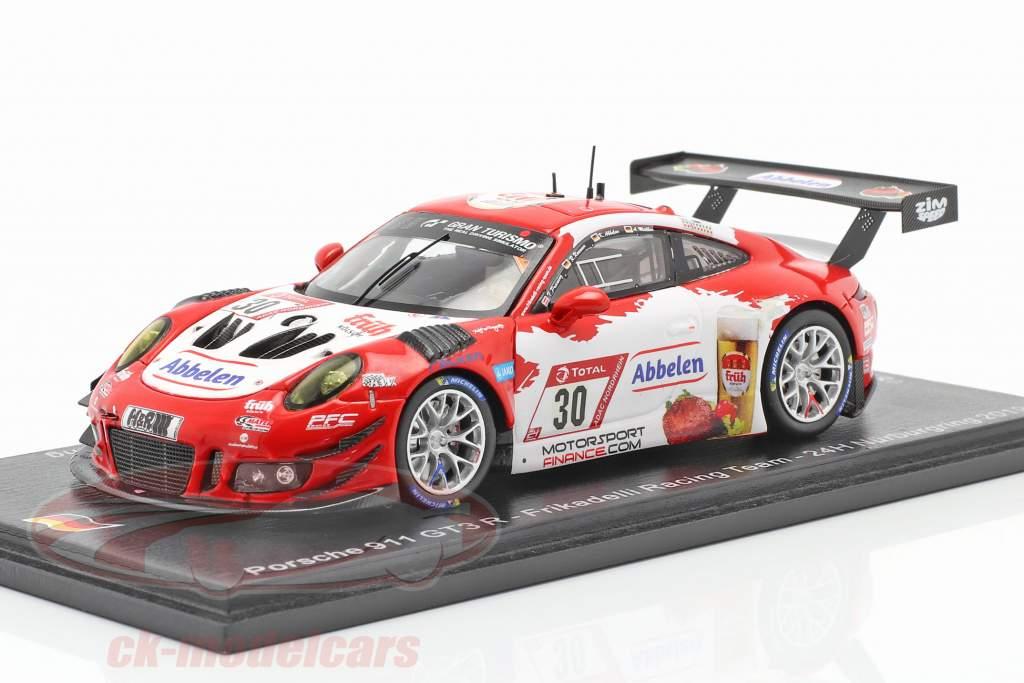 Porsche 911 GT3 R #30 24h Nürburgring 2019 Frikadelli Racing Team 1:43 Spark