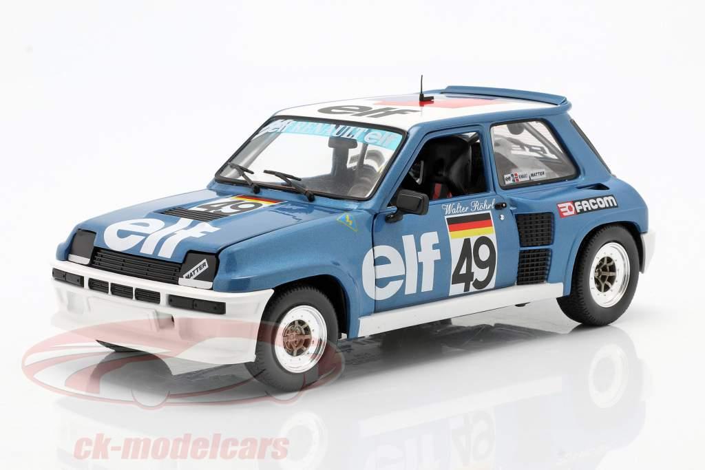 Renault 5 Turbo #49 Européen Coupe 1981 Walter Röhrl 1:18 Solido
