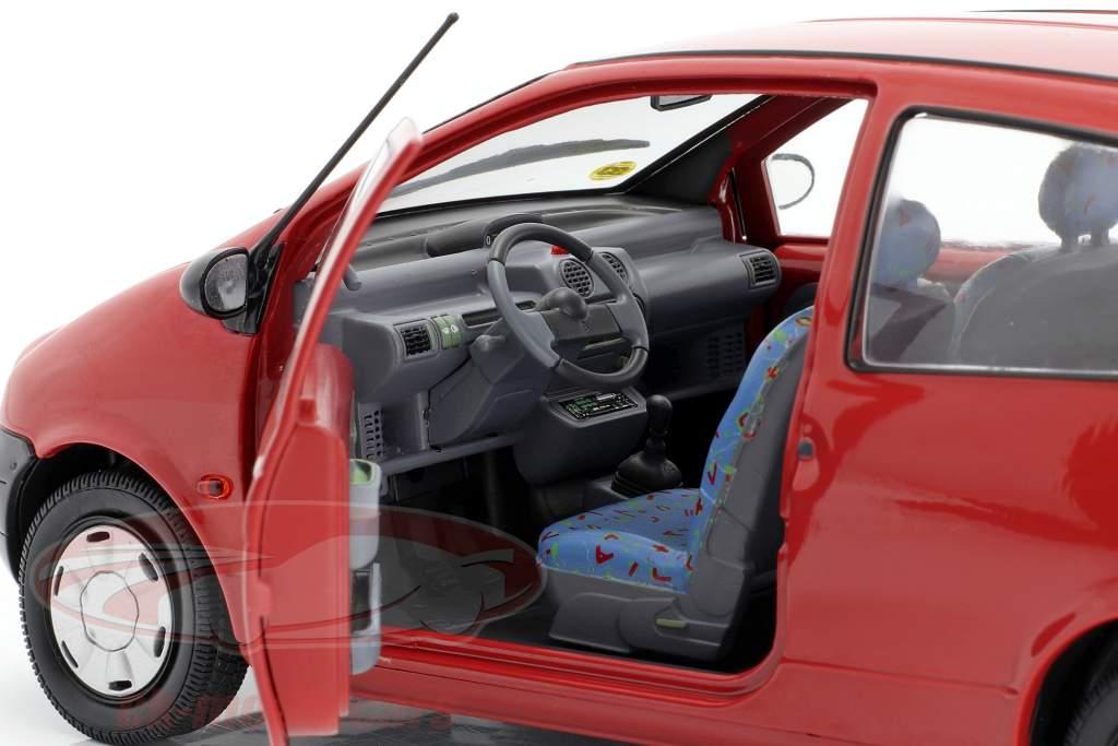 Renault Twingo MK1 Byggeår 1993 rød 1:18 Solido