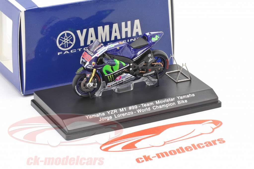 Jorge Lorenzo Yamaha YZR-M1 #99 Campione del mondo MotoGP 2015 1:43 Spark