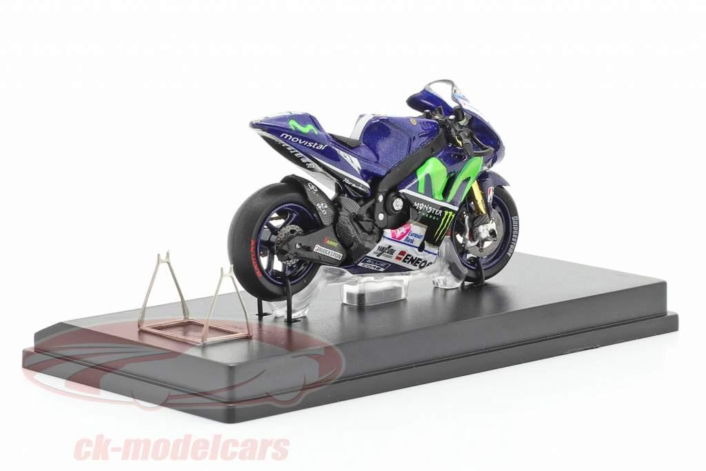 Jorge Lorenzo Yamaha YZR-M1 #99 Campeão do mundo MotoGP 2015 1:43 Spark