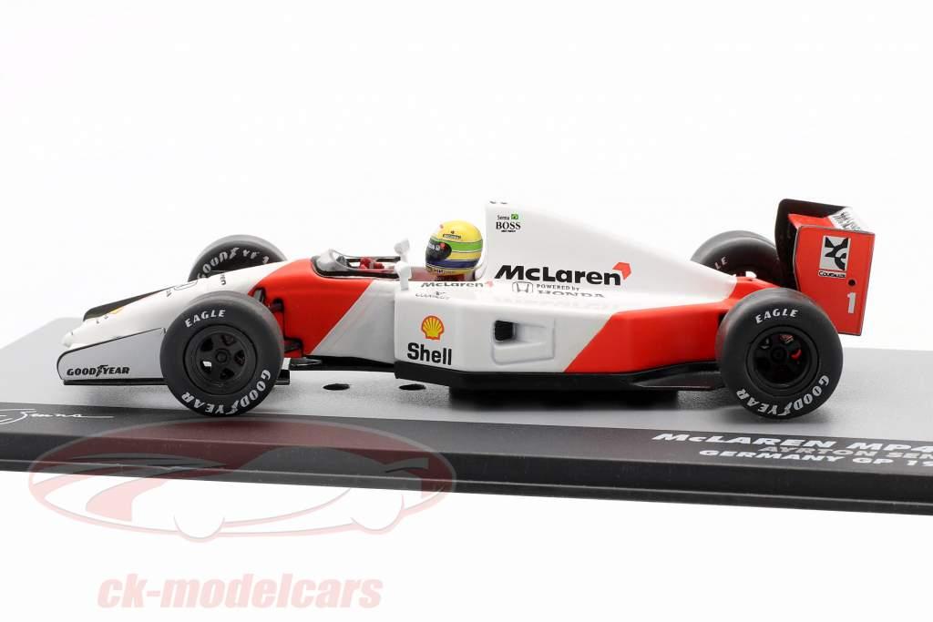 Ayrton Senna McLaren MP4/7 #1 Duitsland GP formule 1 1992 1:43 Altaya