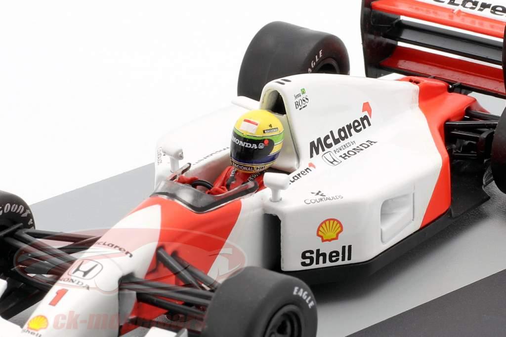 Ayrton Senna McLaren MP4/7 #1 Alemania GP fórmula 1 1992 1:43 Altaya