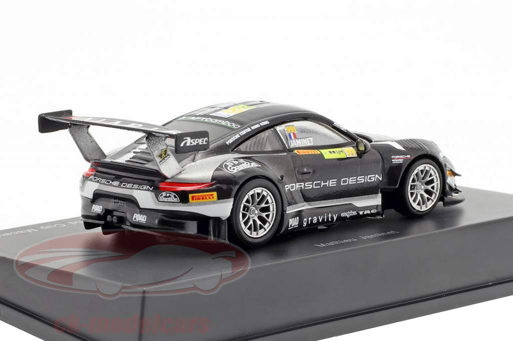 Porsche 911 GT3 R #991 FIA GT World Cup Macau 2018 M. Jaminet 1:64 Spark