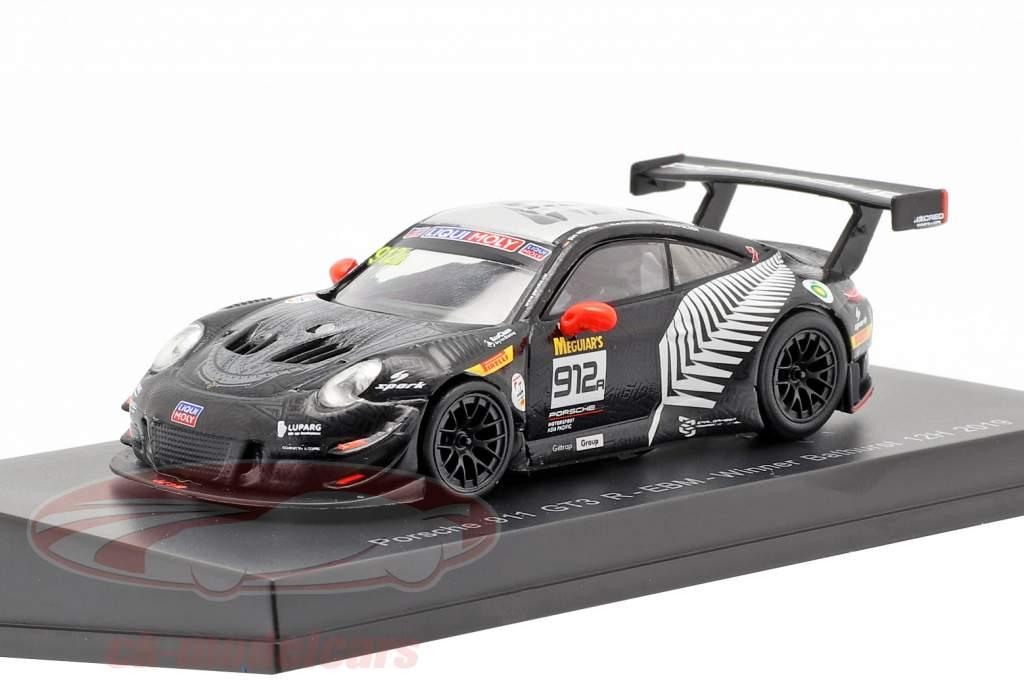Porsche 911 GT3 R #912 Ganador 12h Bathurst 2019 Campbell, Olsen, Werner 1:64 Spark