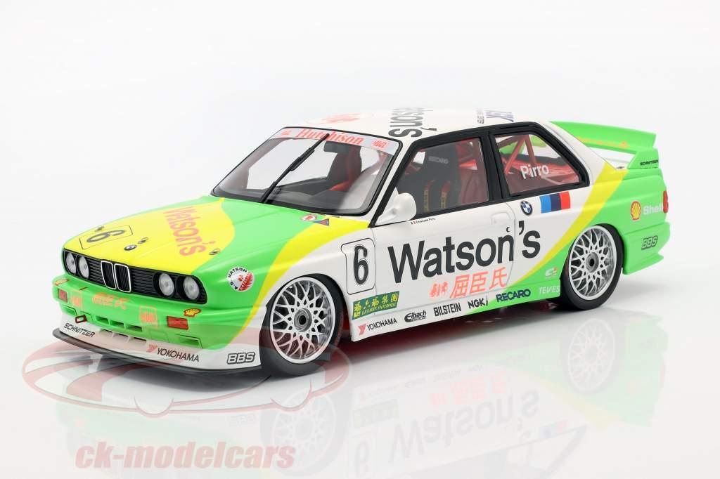 BMW M3 (E30) #6 Vencedor Macau Guia Race 1991 Emanuelle Pirro 1:18 Minichamps