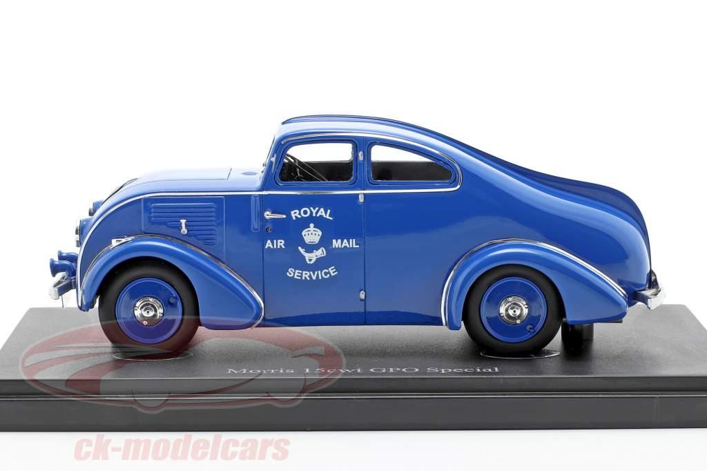 Morris 15cwt GPO Special Ano de construção 1934 azul 1:43 AutoCult