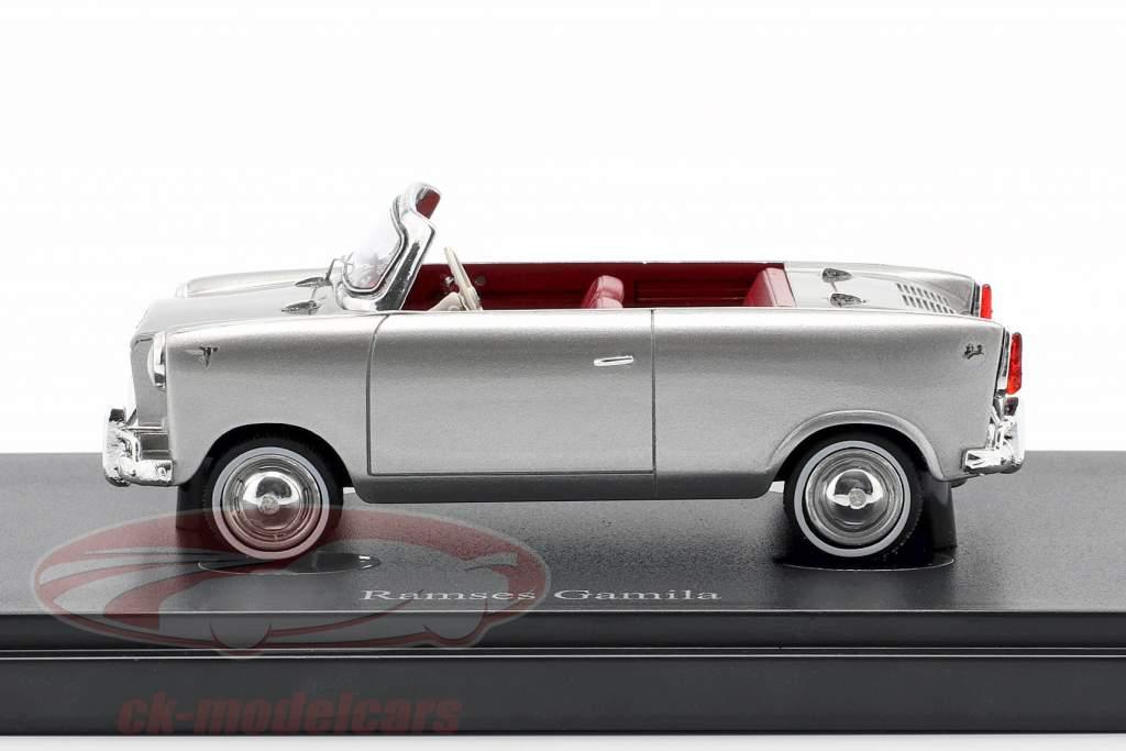 Ramses Gamila Bouwjaar 1961 zilver 1:43 AutoCult
