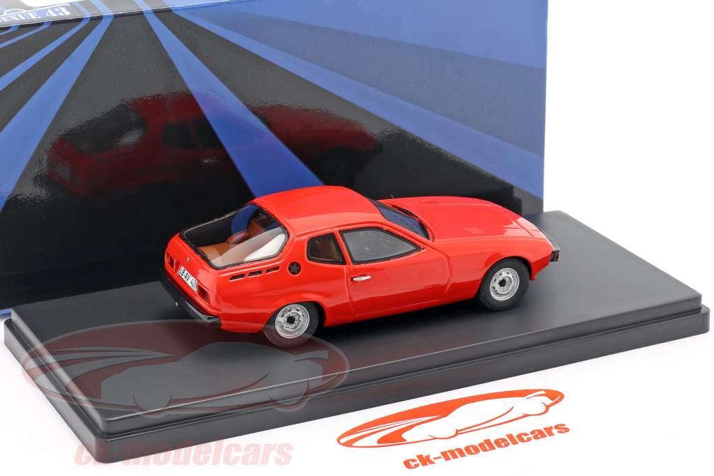 Porsche 924 Prototyp Baujahr 1974 rot 1:43 AutoCult