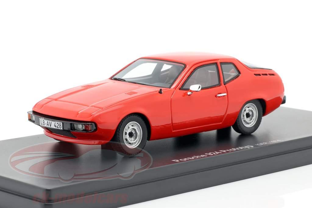 Porsche 924 Prototipo Año de construcción 1974 rojo 1:43 AutoCult
