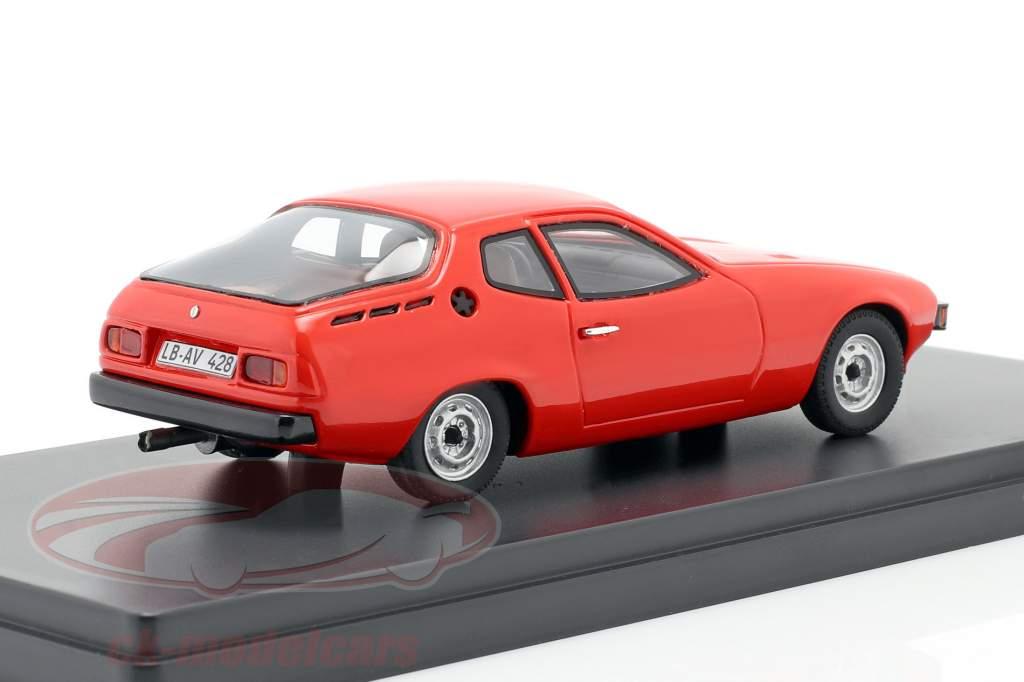 Porsche 924 prototipo Anno di costruzione 1974 rosso 1:43 AutoCult