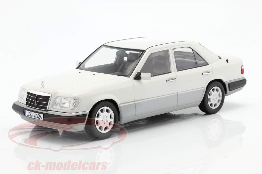 Mercedes-Benz E klasse (W124) Byggeår 1989 Arctic hvid 1:18 iScale