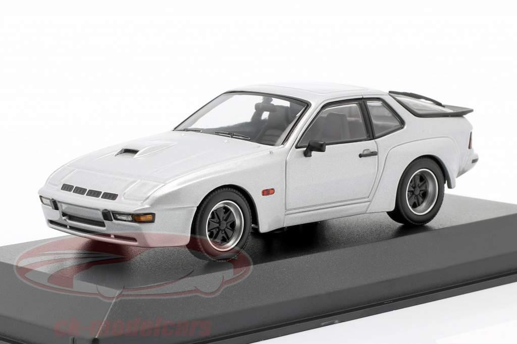 Porsche 924 GT Ano de construção 1981 prateado 1:43 Minichamps