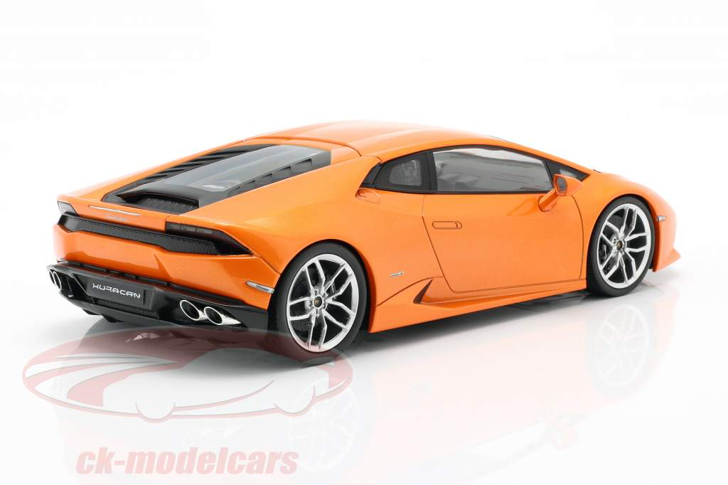 Lamborghini Huracan LP 610-4 laranja 1:18 Kyosho