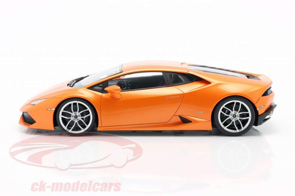Lamborghini Huracan LP 610-4 naranja 1:18 Kyosho