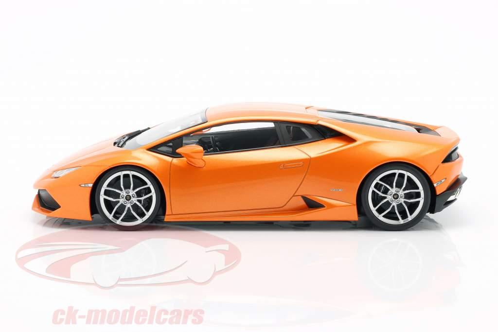 Lamborghini Huracan LP 610-4 orange 1:18 Kyosho