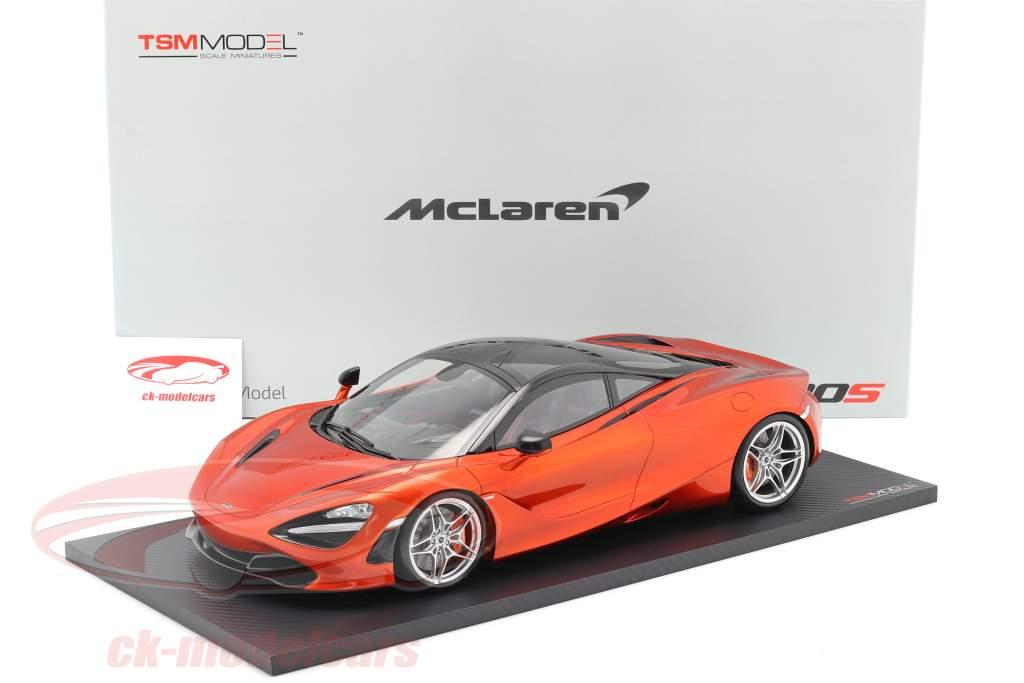 McLaren 720S Año de construcción 2017 azores naranja 1:12 TrueScale