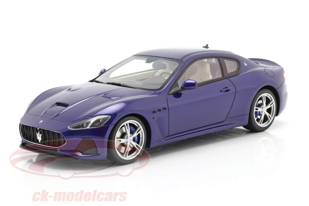 Maserati Gran Turismo MC Año de construcción 2018 tintas azul 1:18 TrueScale