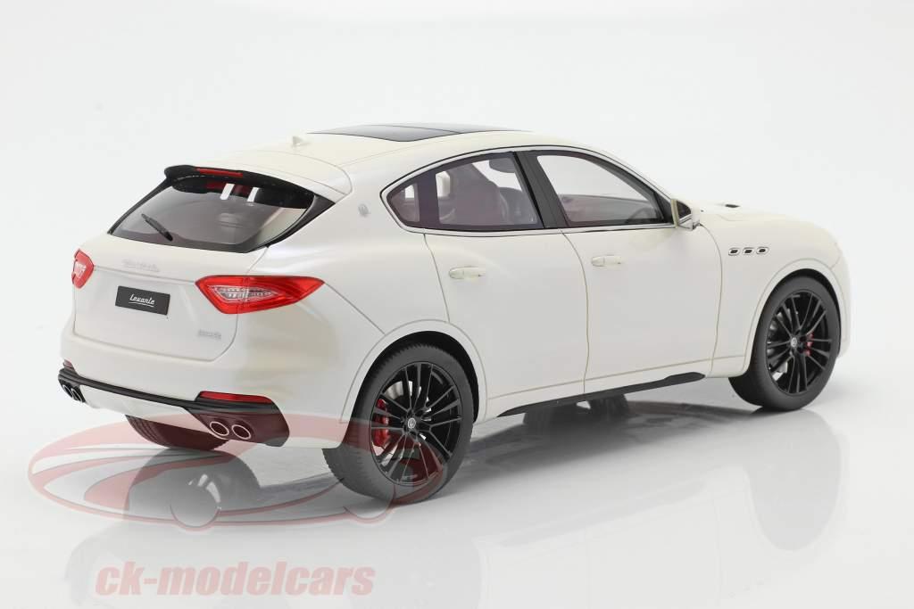 Maserati Levante Trofeo Ano de construção 2019 branco 1:18 TrueScale
