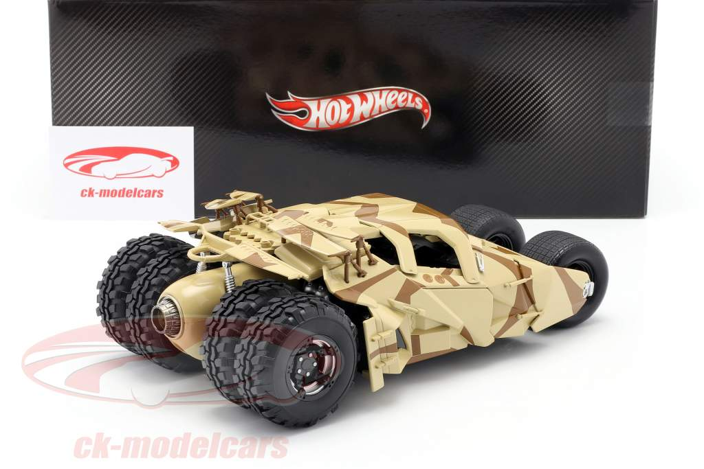 Tumbler Batman The Dark Knight Rises 电影 汽车 2012 伪装 1:18 HotWheels