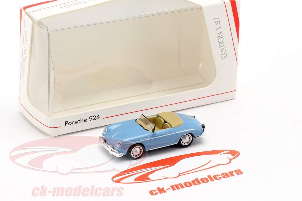 Porsche 356A Speedster lys blå 1:87 Schuco