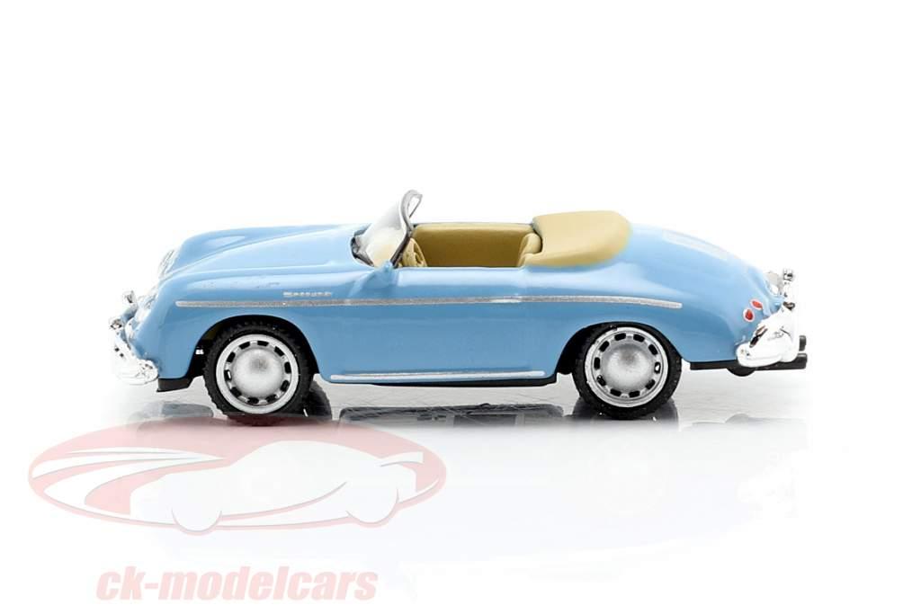 Porsche 356A Speedster lumière bleu 1:87 Schuco