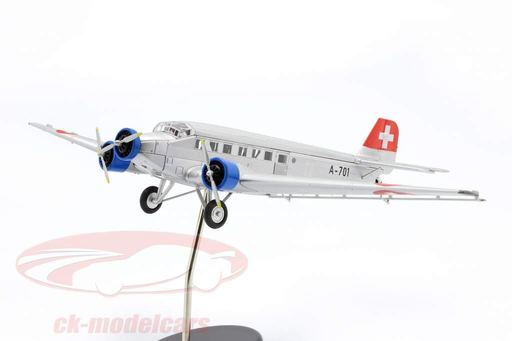 Junkers Ju52/3m Flugzeug 1932-52 Schweizer Luftwaffe 1:72 Schuco