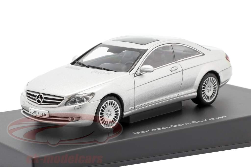 Mercedes-Benz Clase CL Año de construcción 2006 plata metálico 1:43 AUTOart
