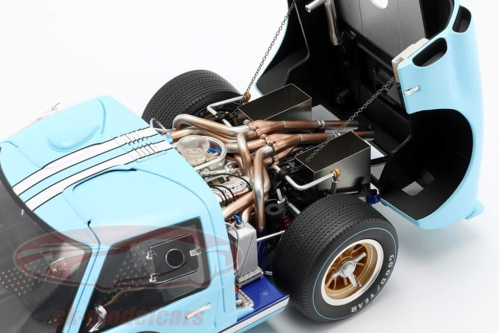 Ford GT40 MK II #1 2nd 24h LeMans 1966 Miles, Hulme 1:12 GMP