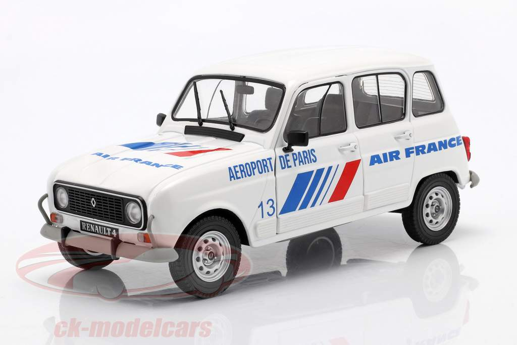 Renault 4L GTL Air France anno 1978 bianco / blu 1:18 Solido