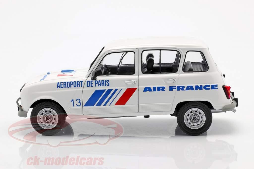 Renault 4L GTL Air France år 1978 hvid / blå 1:18 Solido