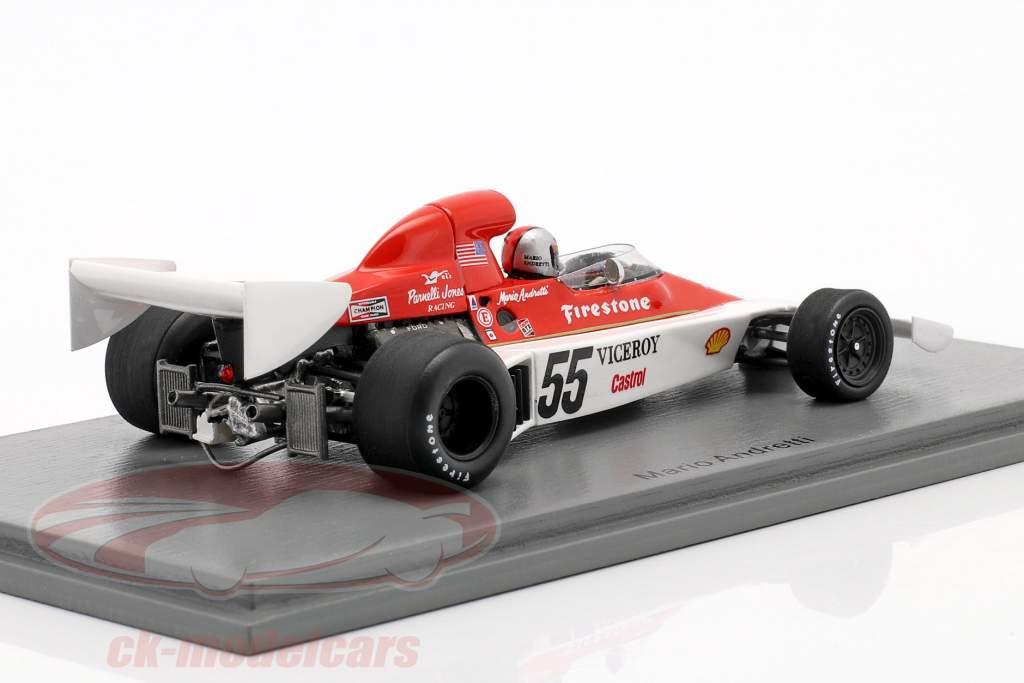 Mario Andretti Parnelli VPJ4 #55 Canadian GP formula 1 1974 1:43 Spark