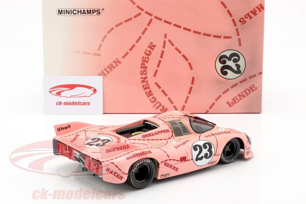 Porsche 917/20 Pink Pig #23 24h LeMans 1971 Kauhsen, Joest 1:18 Minichamps
