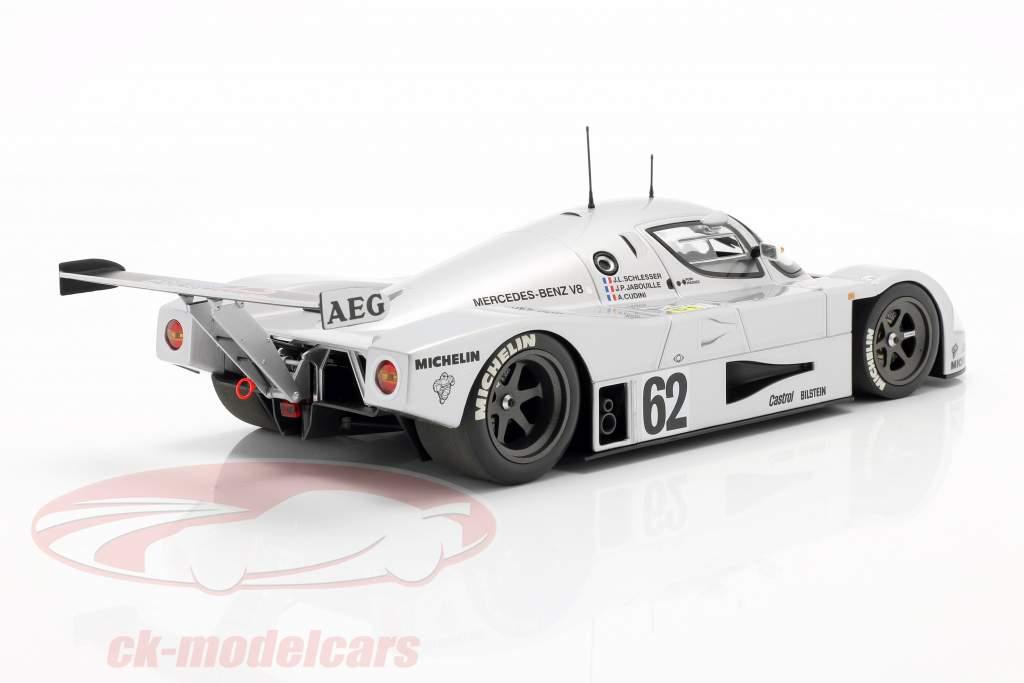 Sauber-Mercedes C9 #62 5e 24h LeMans 1989 Schlesser, Jabouille, Cudini 1:18 Minichamps