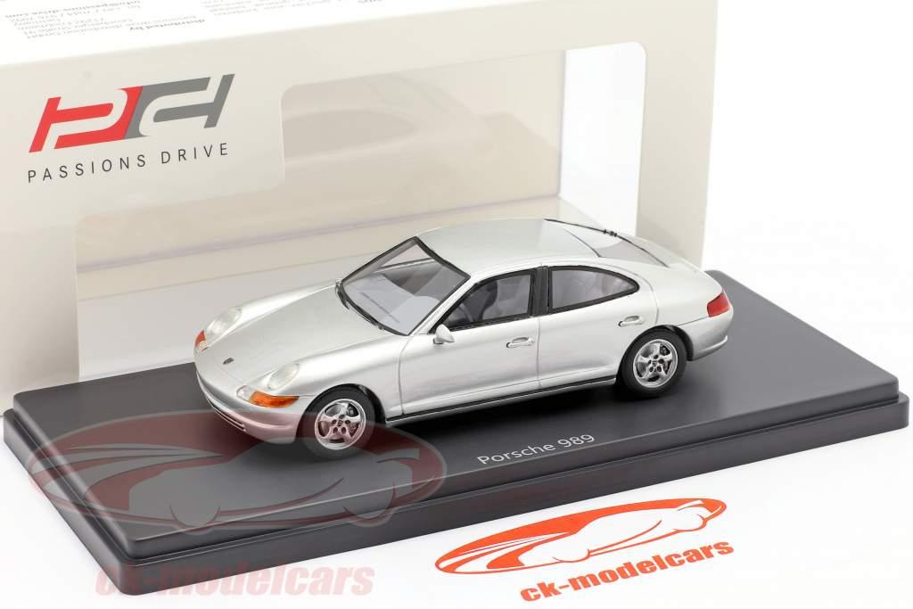 Porsche 989 prototipo Anno di costruzione 1988  argento 1:43 AutoCult