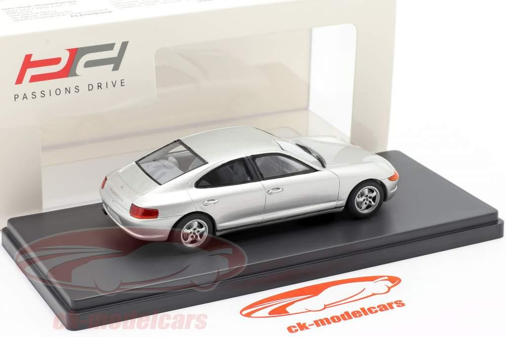 Porsche 989 Protótipo Ano de construção 1988  prateado 1:43 AutoCult