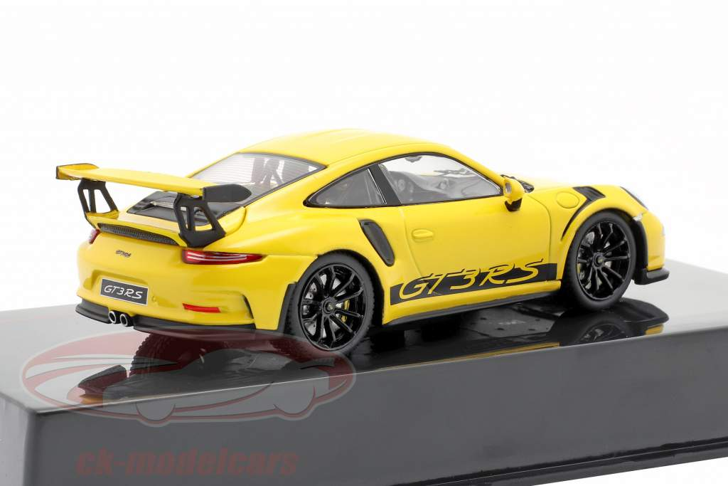 Porsche 911 (991) GT3 RS Année de construction 2017 jaune 1:43 Ixo