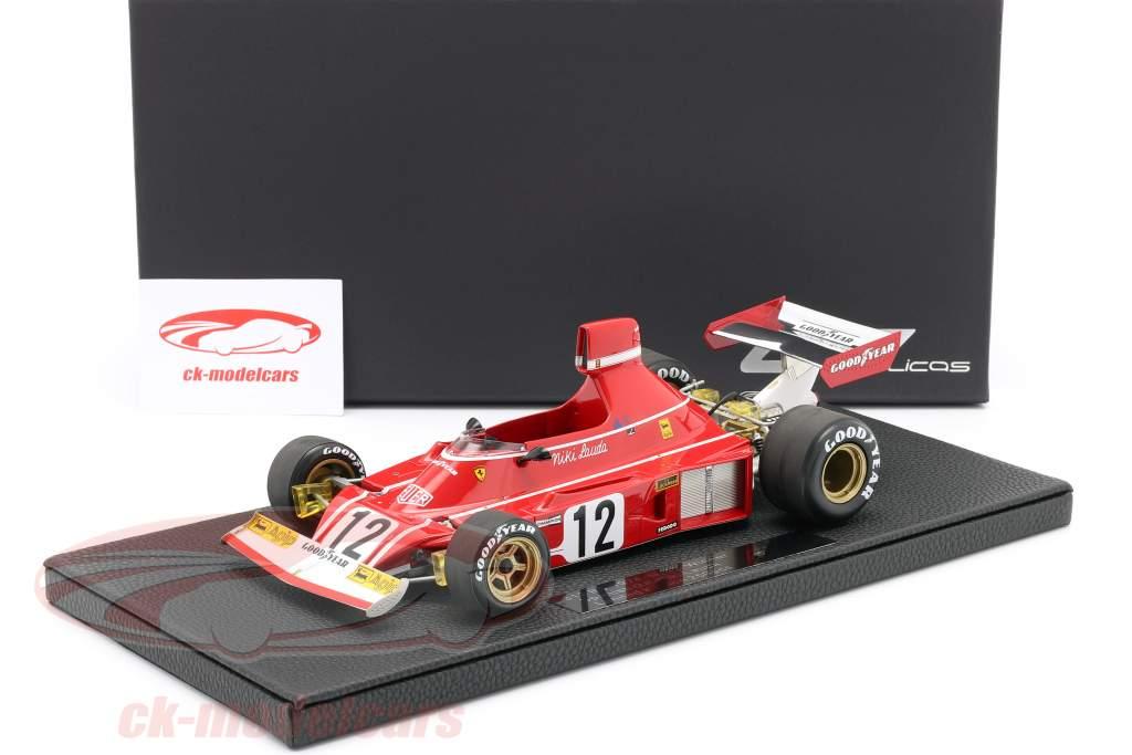 Niki Lauda Ferrari 312B3 #12 vincitore spagnolo GP formula 1 1974 1:18 GP Replicas