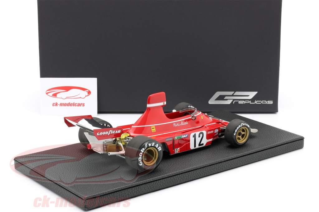 Niki Lauda Ferrari 312B3 #12 Vencedor espanhol GP Formula 1 1974 1:18 GP Replicas