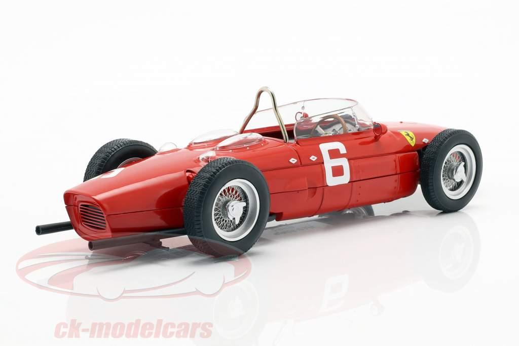 Richie Ginther Ferrari 156 Sharknose #6 第三名 比利时人 GP 式 1 1961 1:18 CMR