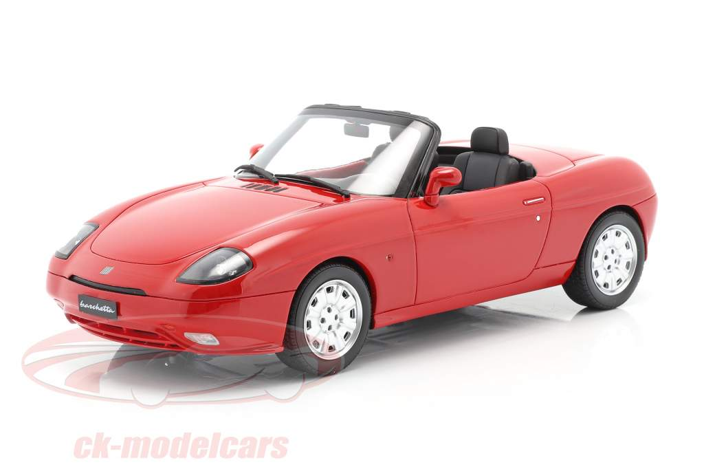 Fiat Barchetta Ano de construção 1995 corsa vermelho 1:18 OttOmobile